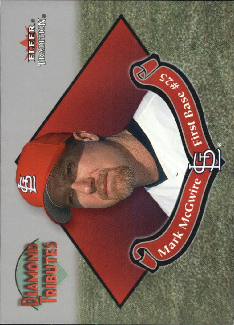 2002 Fleer Tradition Diamond Tributes #5 Mark McGwire