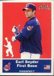 2002 Fleer Tradition Update #U34 Earl Snyder SP RC