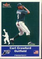 2002 Fleer Tradition Update #U96 Carl Crawford SP