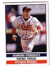 2002 Fleer Tradition Update #U294 Rafael Furcal DS
