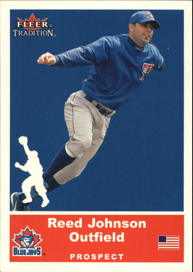 2002 Fleer Tradition Update Glossy #U5 Reed Johnson