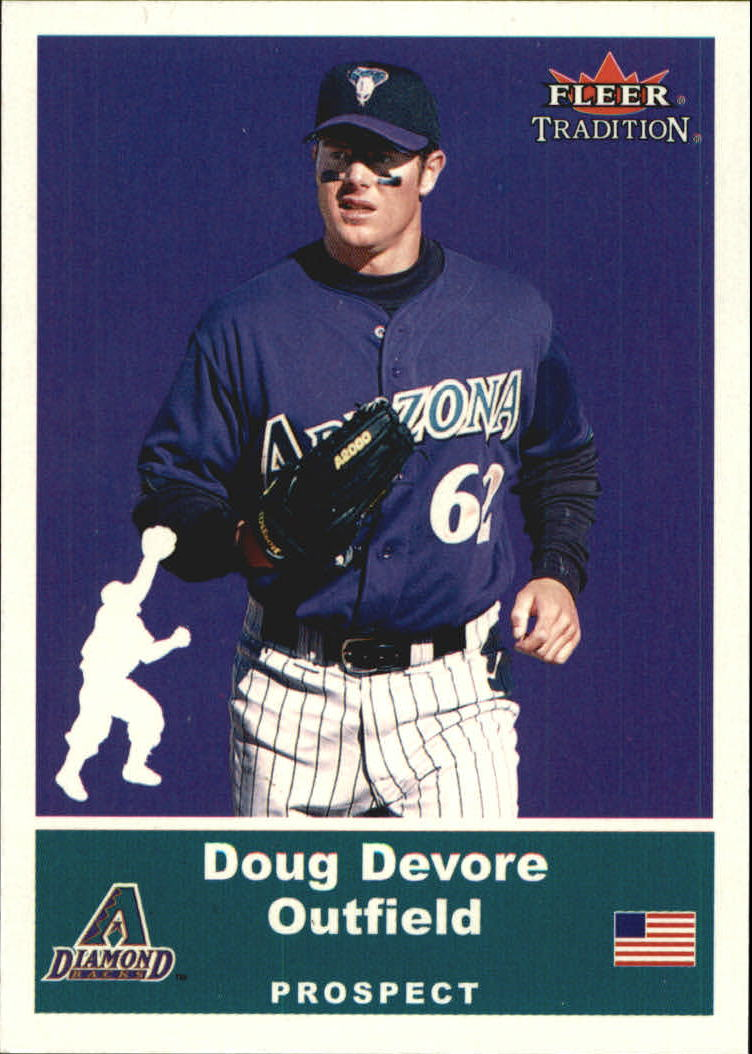 2002 Fleer Tradition Update Glossy #U68 Doug Devore
