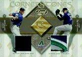 2002 Leaf Cornerstones #4 Curt Schilling/Randy Johnson