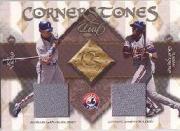 2002 Leaf Cornerstones #9 Vladimir Guerrero/Jose Vidro