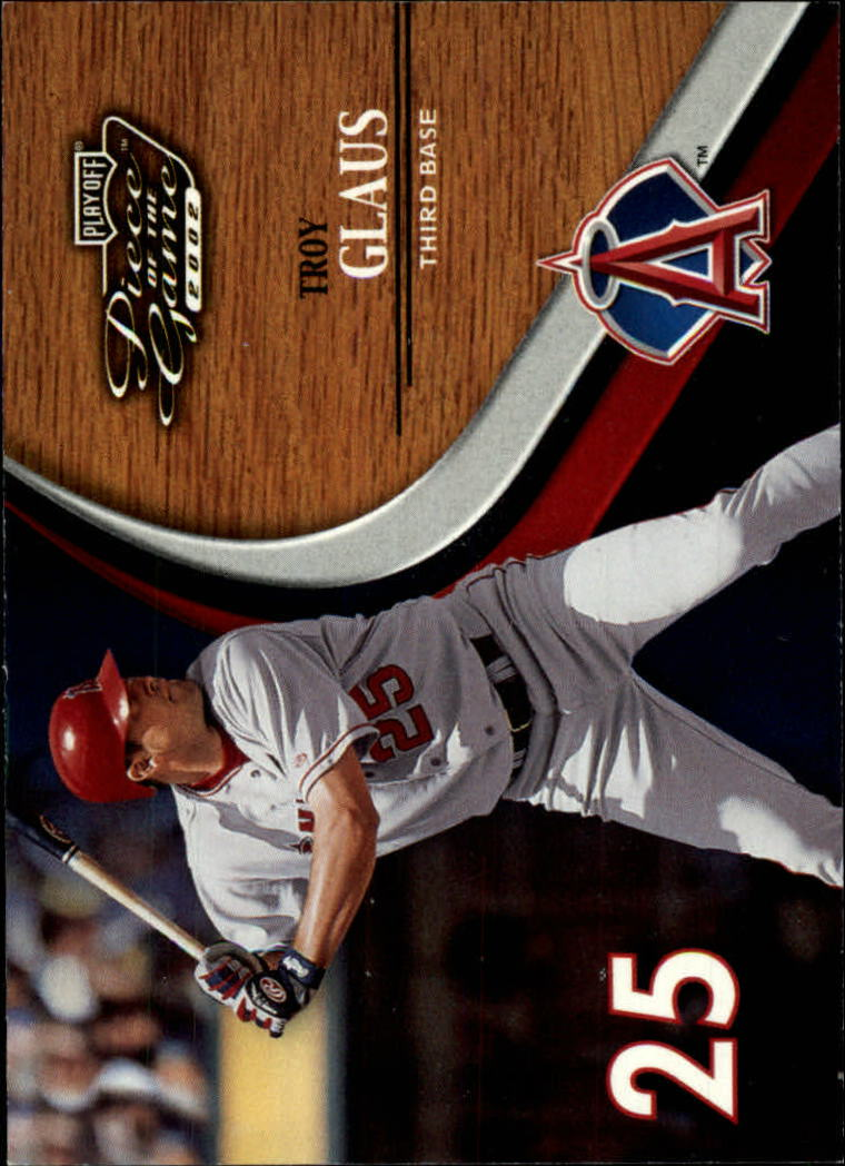 2002 Playoff Piece of the Game #2 Troy Glaus