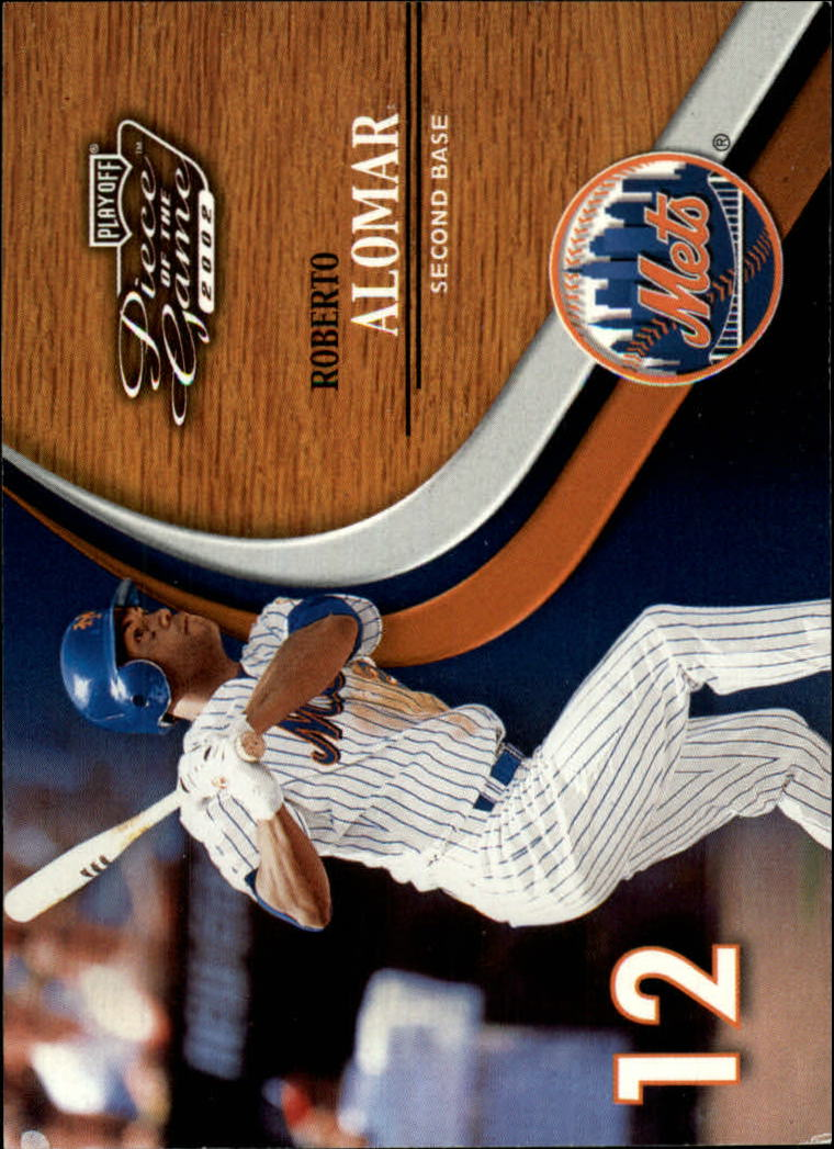 2002 Playoff Piece of the Game #5 Roberto Alomar