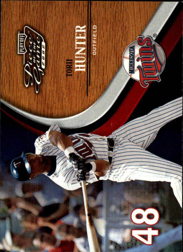 2002 Playoff Piece of the Game #19 Torii Hunter
