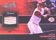 2002 Playoff Piece of the Game Materials #1A Adam Dunn Bat