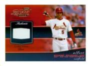 2002 Playoff Piece of the Game Materials #3A Albert Pujols Base