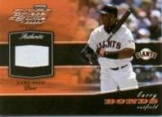 2002 Playoff Piece of the Game Materials #8A Barry Bonds Base