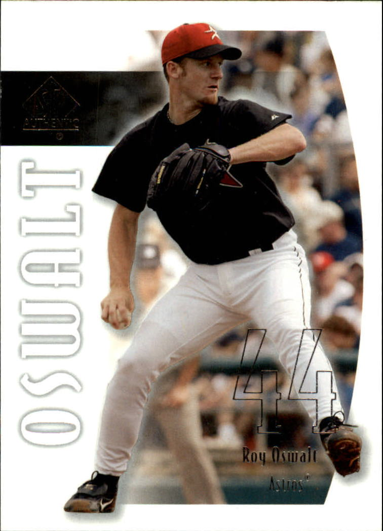 2002 SP Authentic #44 Roy Oswalt