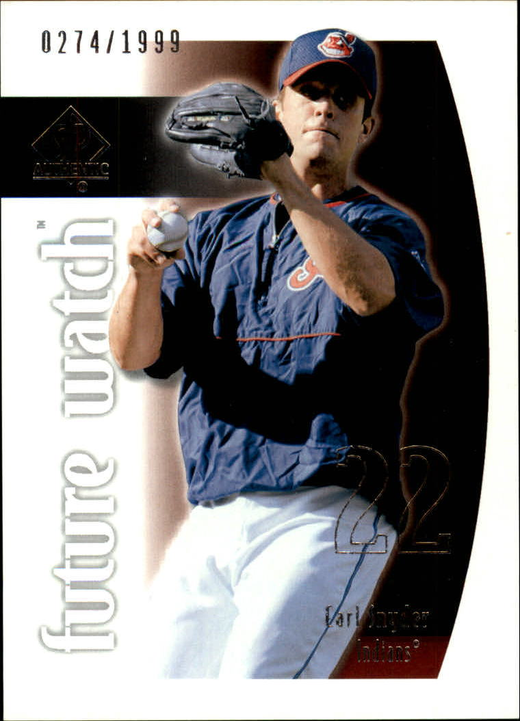 2002 SP Authentic #114 Earl Snyder FW RC