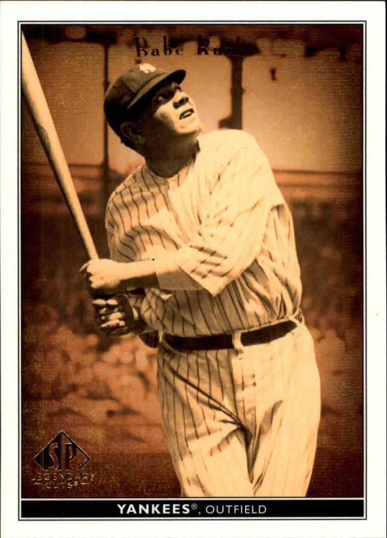 2002 SP Legendary Cuts #4 Babe Ruth