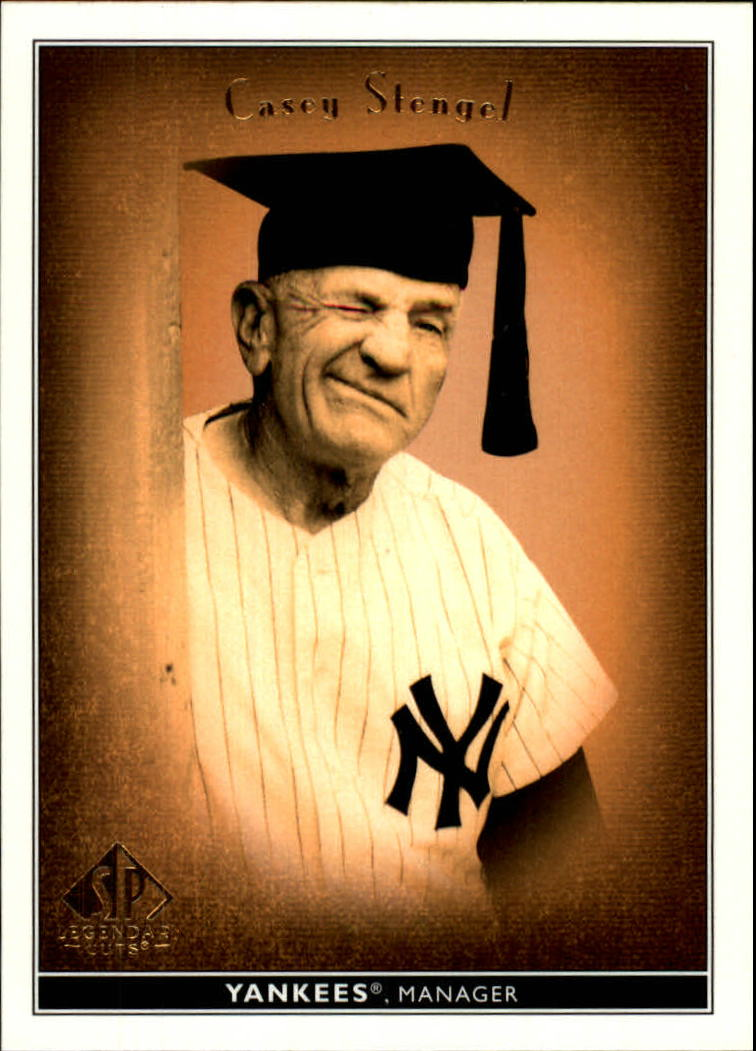 2002 SP Legendary Cuts #10 Casey Stengel