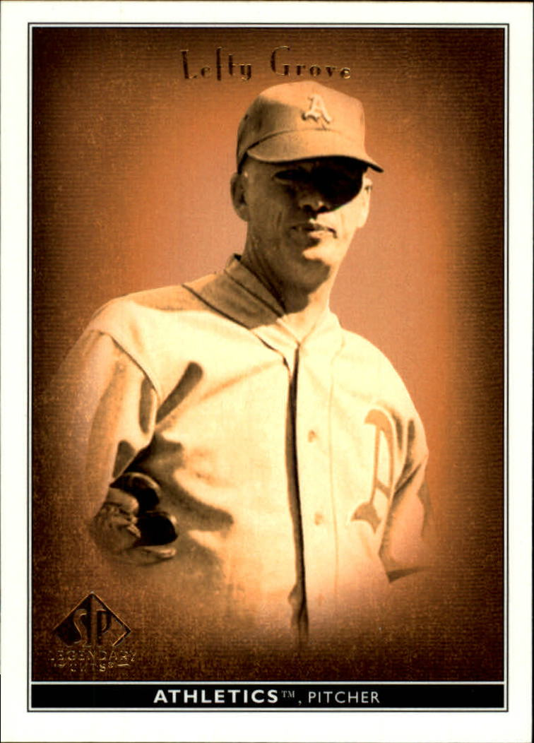 2002 SP Legendary Cuts #45 Lefty Grove