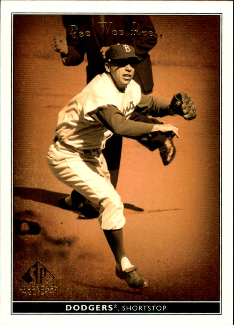 2002 SP Legendary Cuts #59 Pee Wee Reese