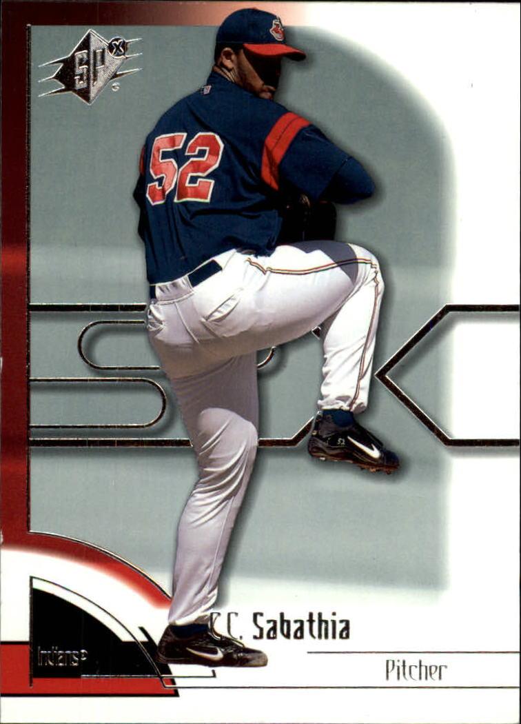 2002 SPx #12 C.C. Sabathia