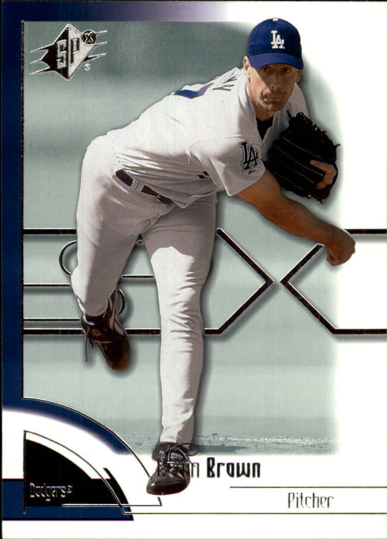 2002 SPx #63 Kevin Brown