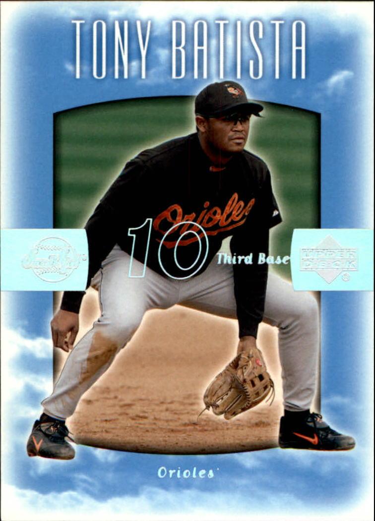 2002 Sweet Spot #17 Tony Batista