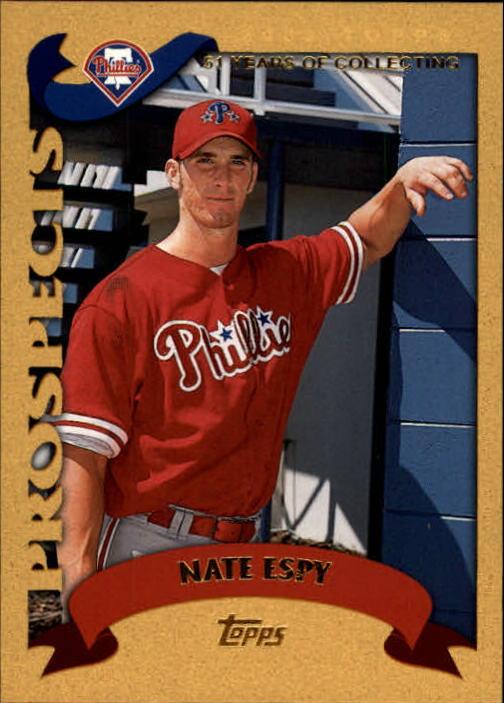 2002 Topps Gold #680 Nate Espy PROS