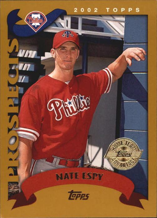 2002 Topps Home Team Advantage #680 Nate Espy PROS