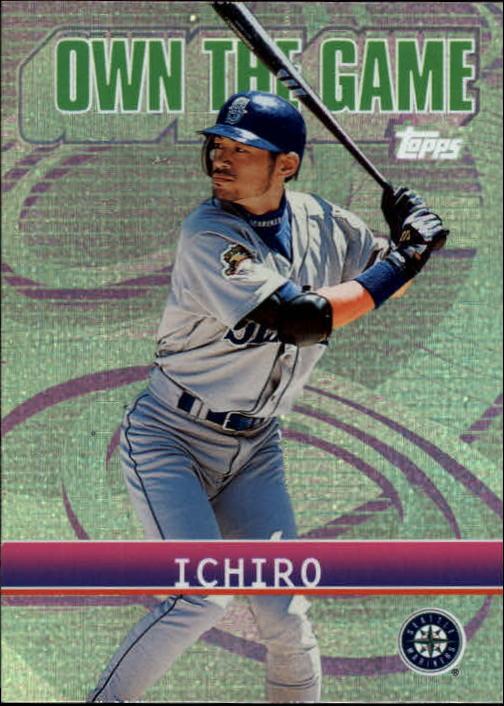 2002 Topps Own the Game #OG12 Ichiro Suzuki