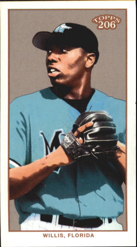 2002 Topps 206 Sweet Caporal Black #415 Dontrelle Willis PROS