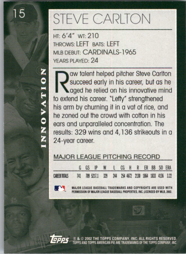 2002 Topps American Pie #14 Brooks Robinson back image