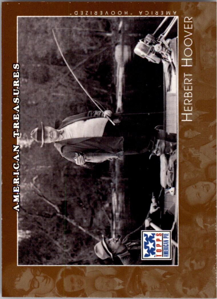 2002 Topps American Pie #138 Herbert Hoover