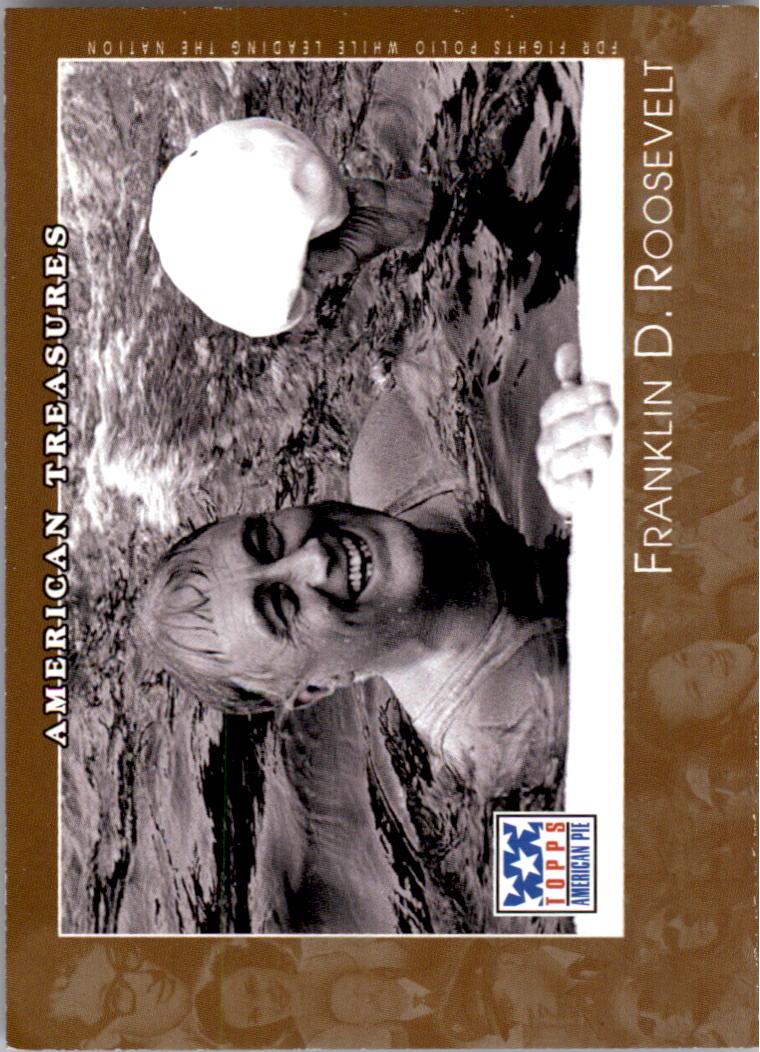 2002 Topps American Pie #139 Franklin D. Roosevelt