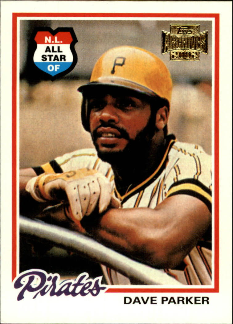 2002 Topps Archives #42 Dave Parker 78