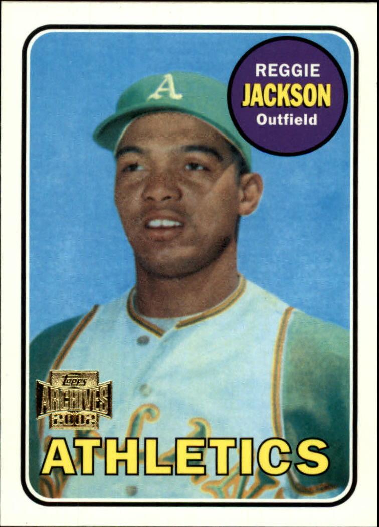 2002 Topps Archives #49 Reggie Jackson 69