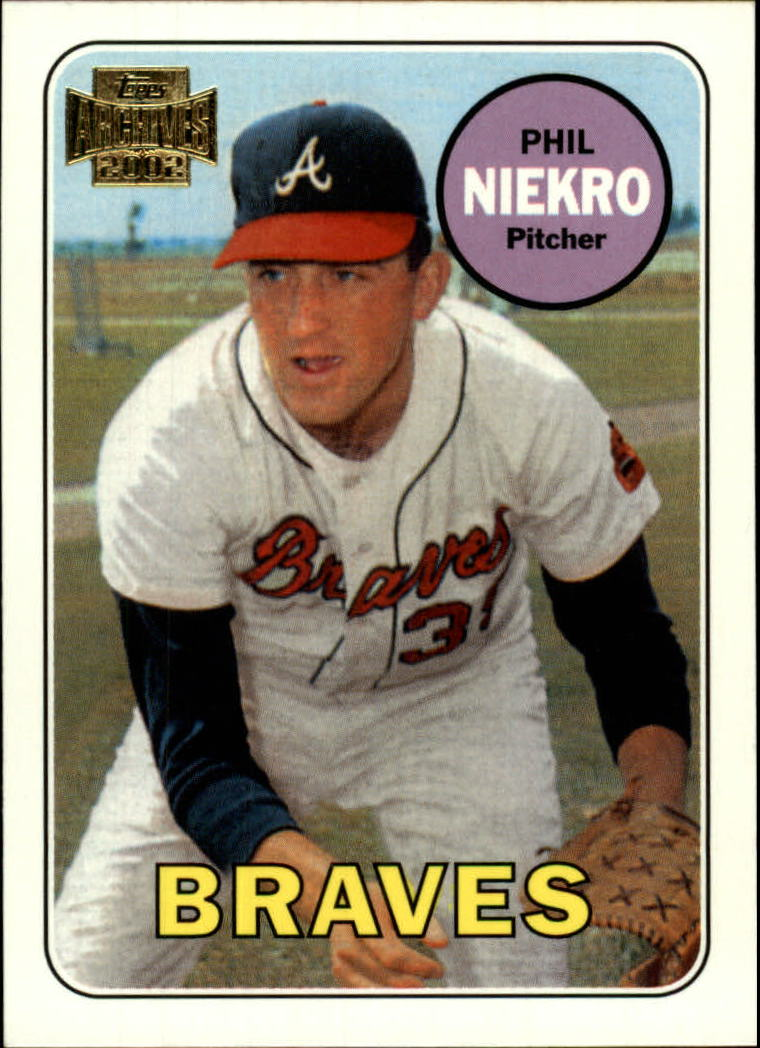 2002 Topps Archives #81 Phil Niekro 69