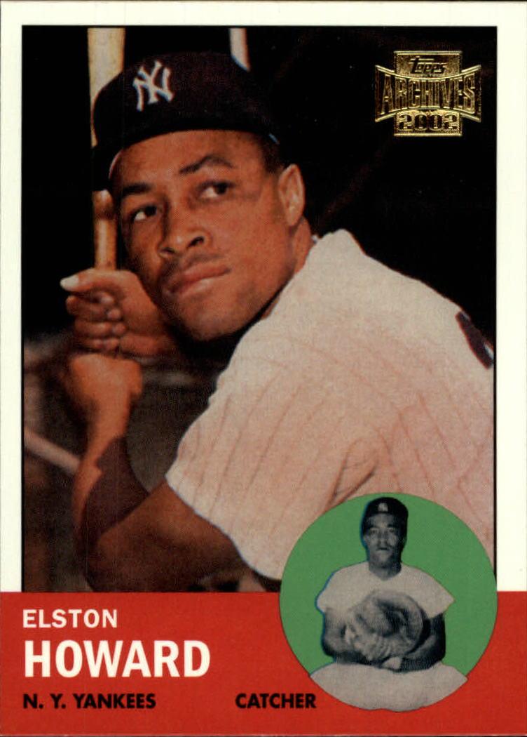 2002 Topps Archives #138 Elston Howard 63