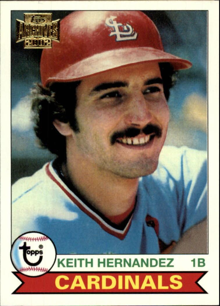 2002 Topps Archives #148 Keith Hernandez 79