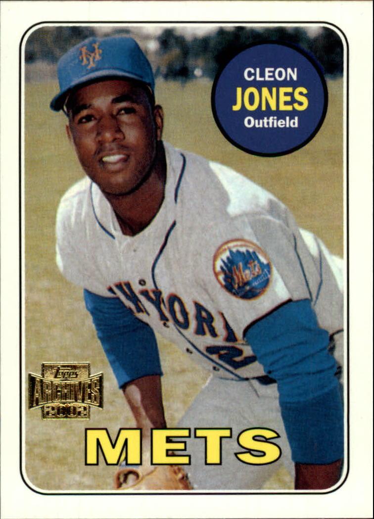 2002 Topps Archives #150 Cleon Jones 69