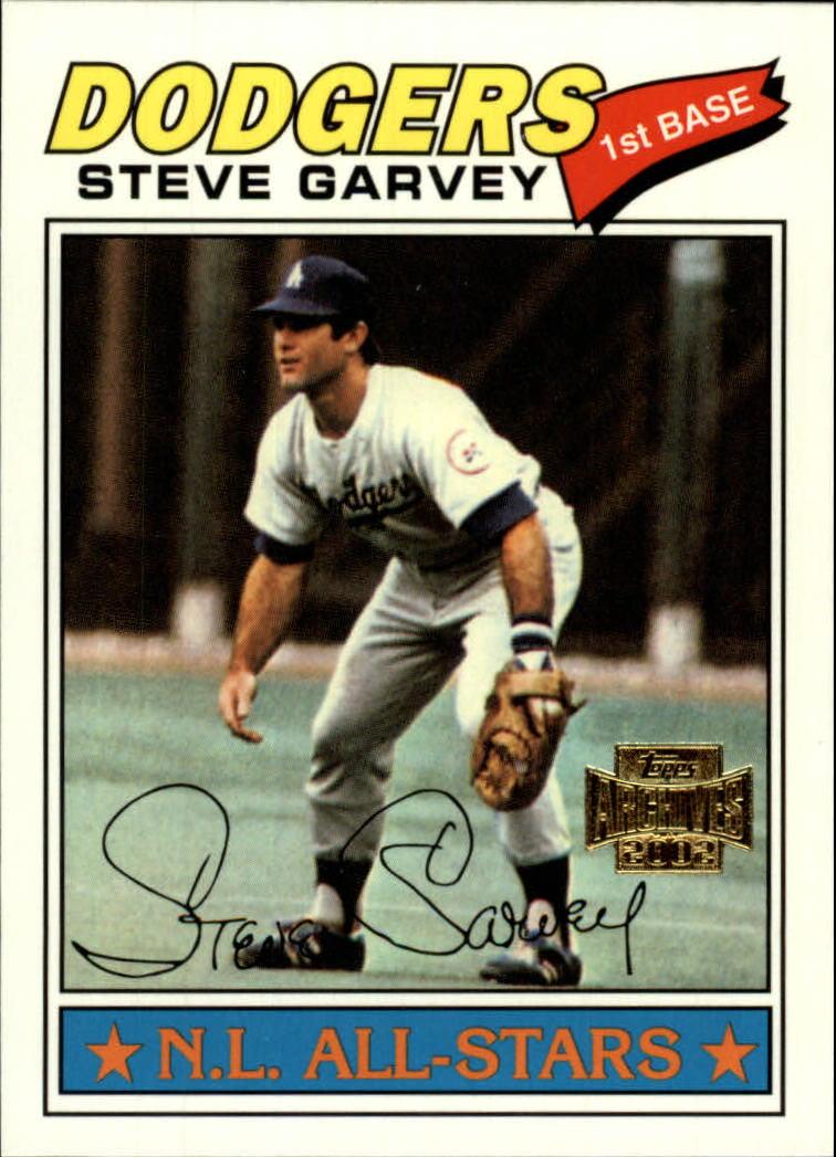 2002 Topps Archives #169 Steve Garvey 77