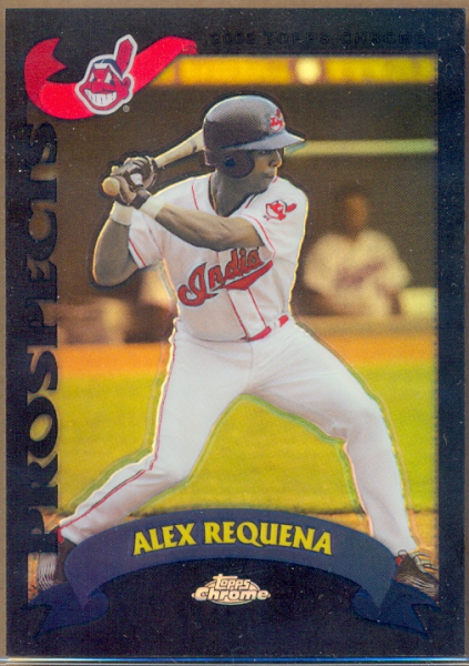 2002 Topps Chrome Traded Black Refractors #T206 Alex Requena