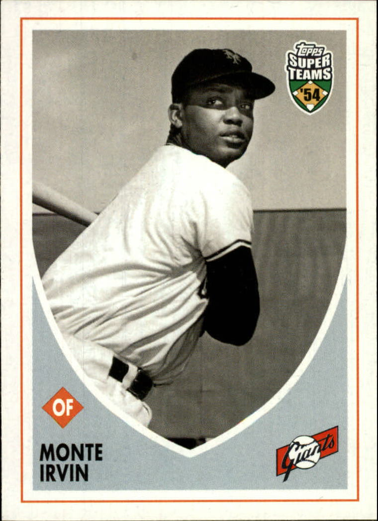 2002 Topps Super Teams #4 Monte Irvin