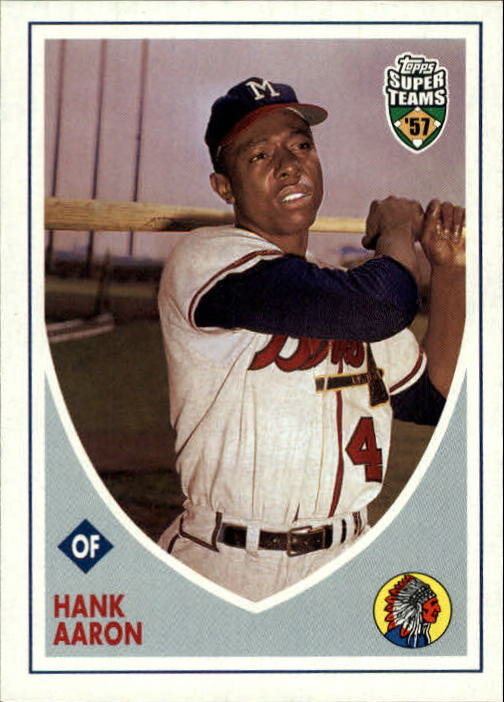 2002 Topps Super Teams #35 Hank Aaron