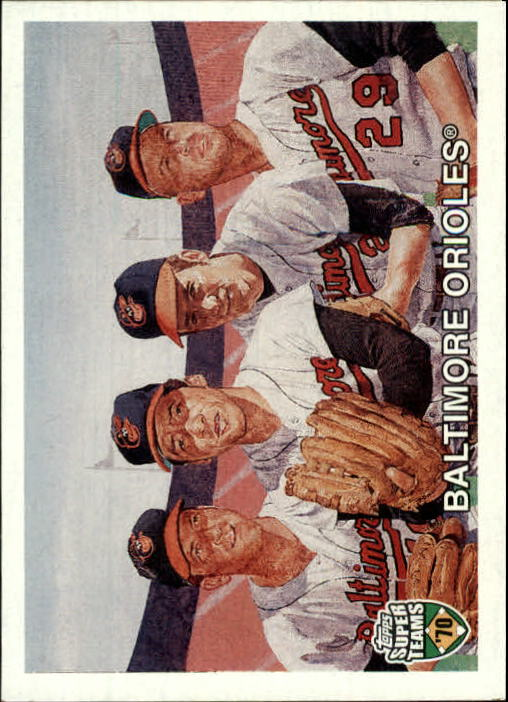 2002 Topps Super Teams #116 Hall/Palmer/Cuellar/McNally