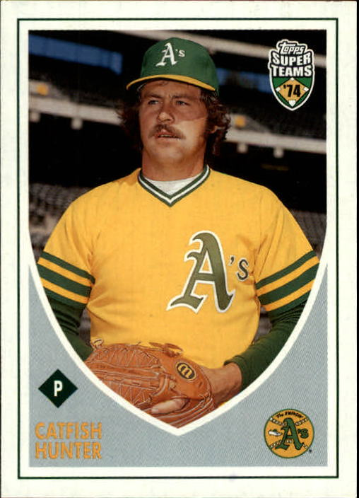 2002 Topps Super Teams #128 Catfish Hunter
