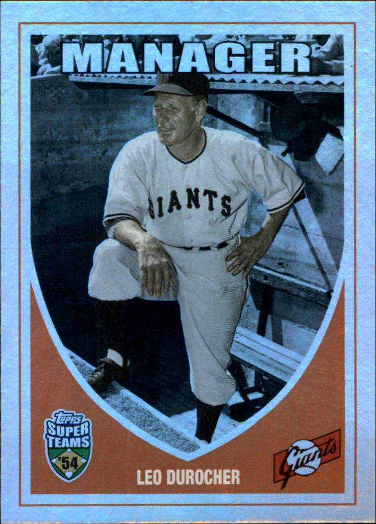 2002 Topps Super Teams Retrofractors #1 Leo Durocher
