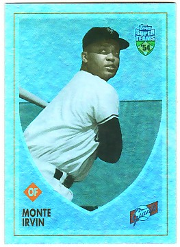 2002 Topps Super Teams Retrofractors #4 Monte Irvin