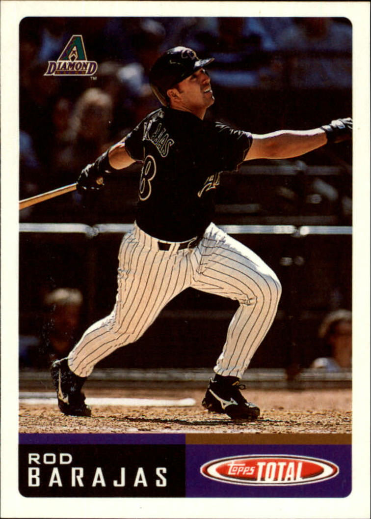 2002 Topps Total #11 Rod Barajas