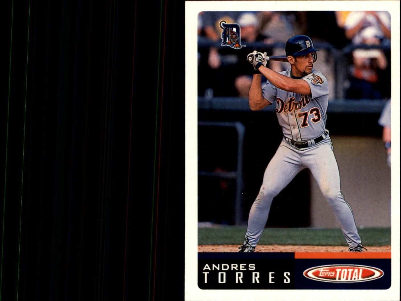 2002 Topps Total #24 Andres Torres