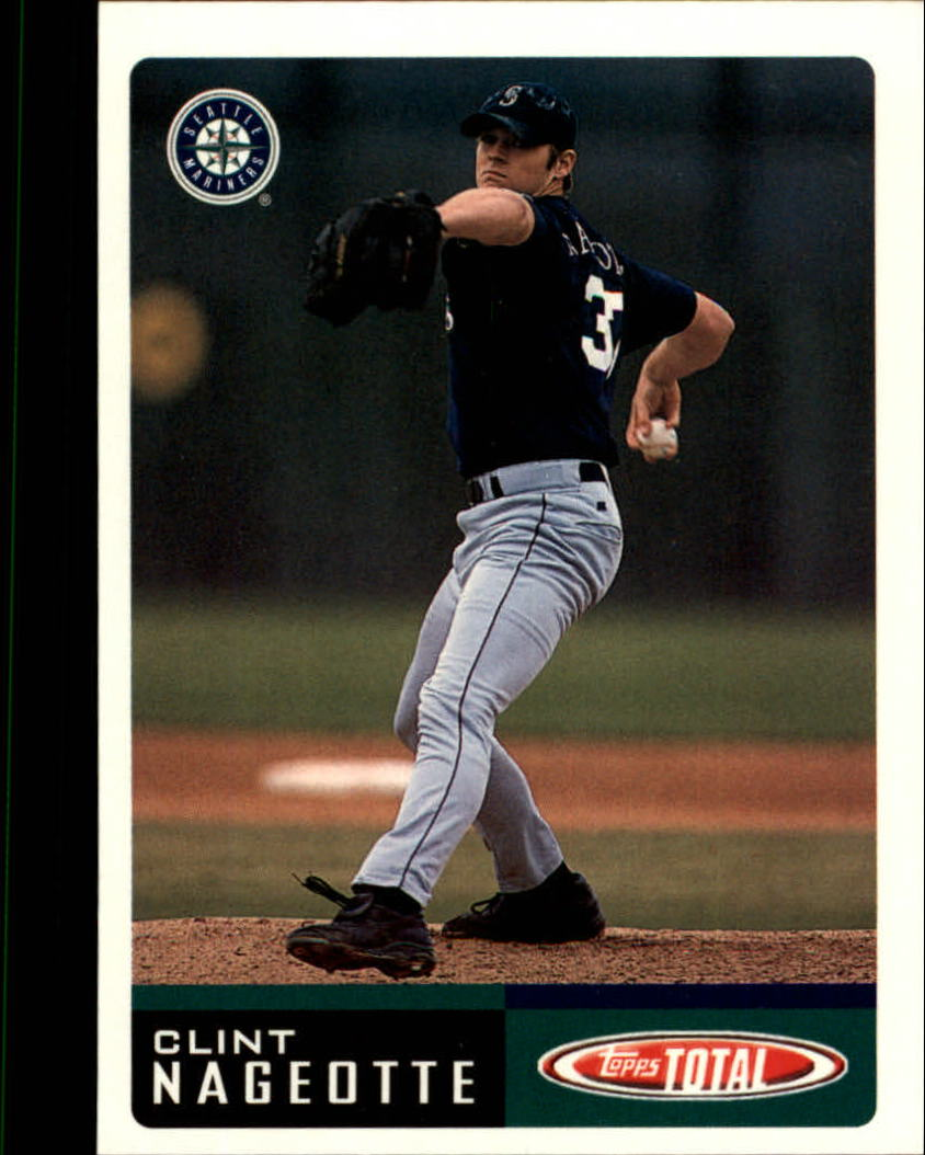 2002 Topps Total #82 Clint Nageotte RC
