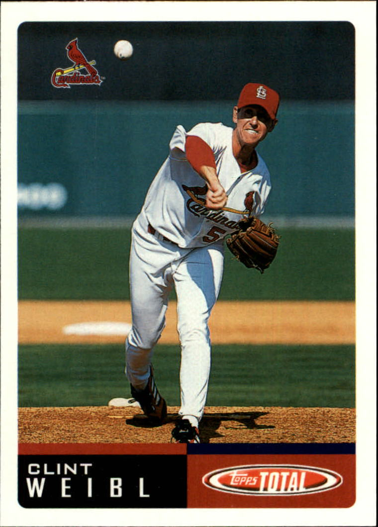 2002 Topps Total #182 Clint Weibl RC