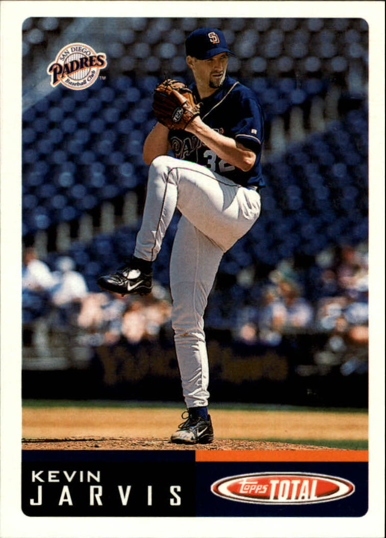 2002 Topps Total #375 Kevin Jarvis