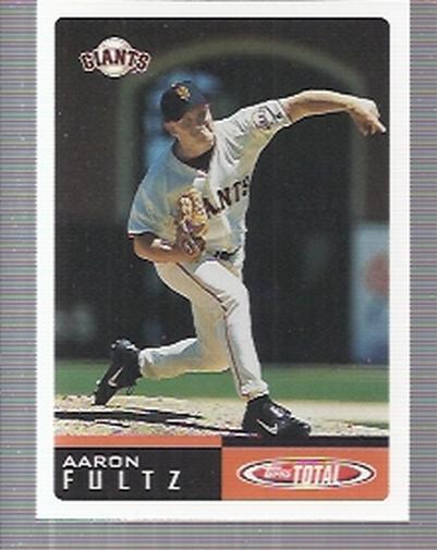 2002 Topps Total #513 Aaron Fultz